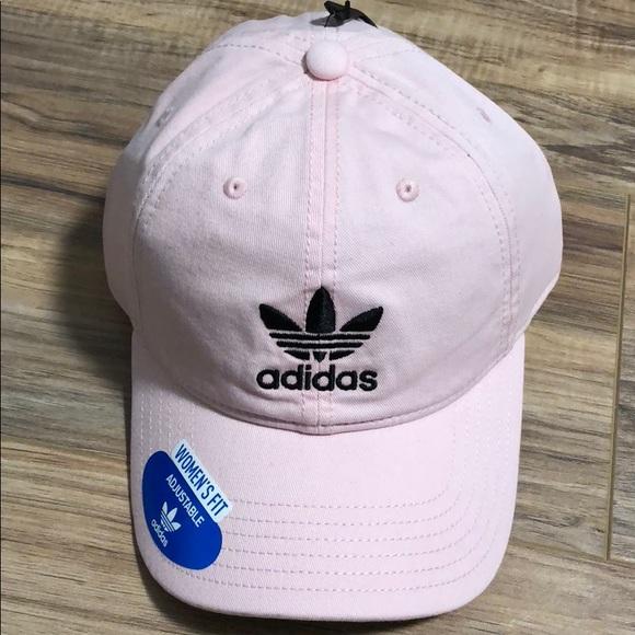 e03d073331c baby pink adidas cap